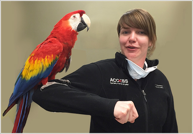 Karen-Schachterle-and-Macaw